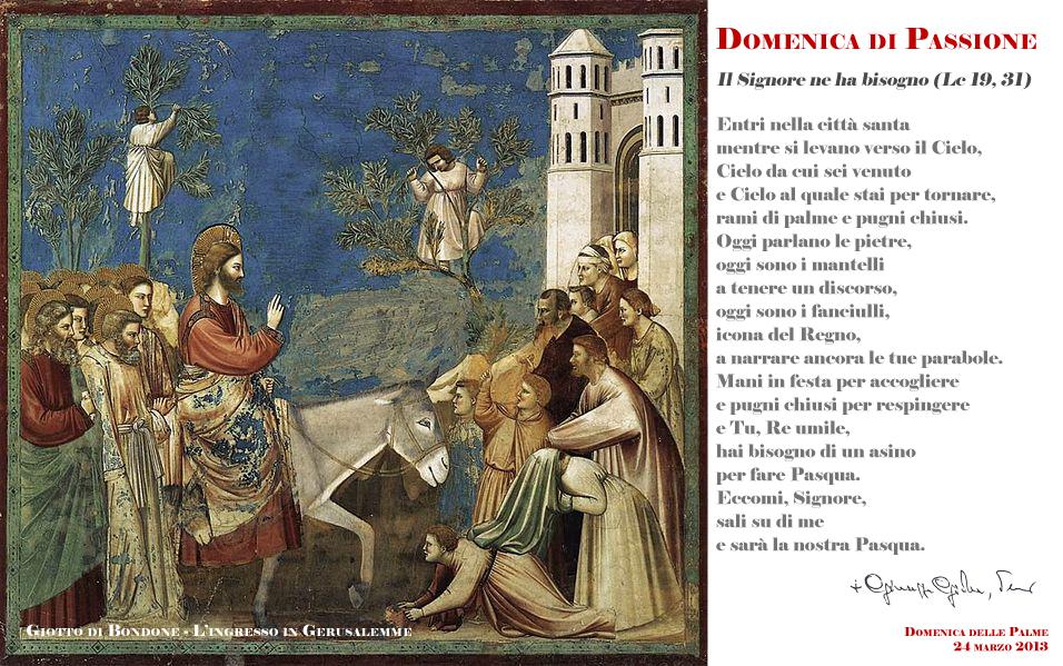 Domenica di Passione : Diocesi di Nocera Inferiore-Sarno