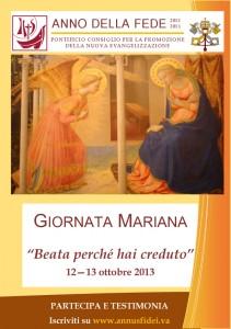 Giornata Mariana per l'Anno della Fede