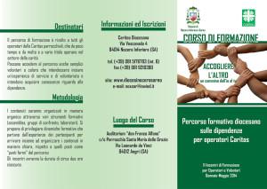 Brochure Corso Caritas 2014