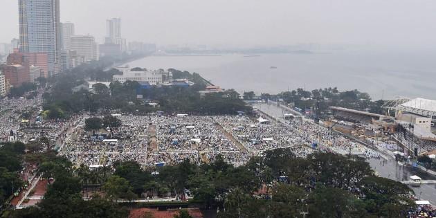 Concluso il viaggio del Papa in Sri Lanka e Filippine. 7 milioni di fedeli alla Messa conclusiva