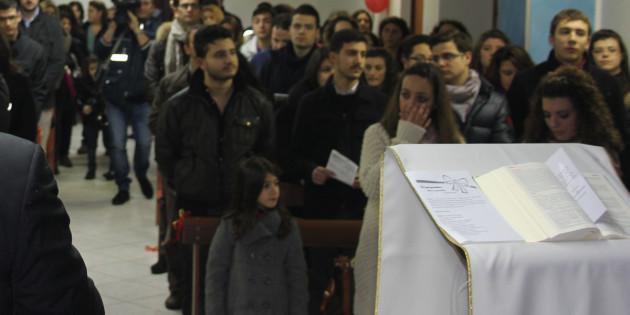 Incontro dei 72 giovani in preparazione alla Settimana di Evangelizzazione