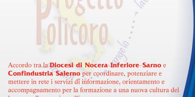 Accordo con Confindustria Salerno per il Progetto Policoro