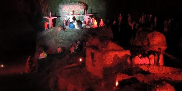 Il racconto della Via Crucis a Nocera Superiore
