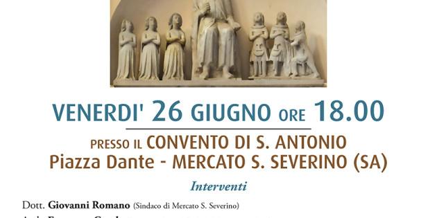Restauro del Monumento di Tommaso III Sanseverino