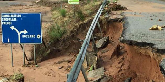 Aiuto della CEI alla Calabria alluvionata