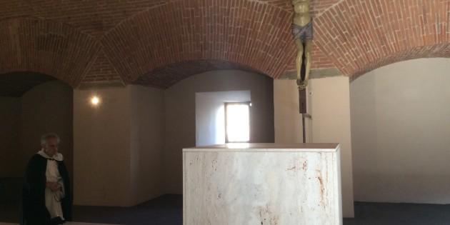 Il cuore orante di Firenze 2015: la cappella ricavata nell'ex polveriera