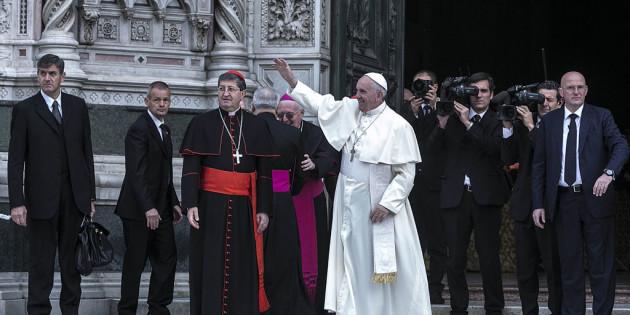 Una Chiesa umile, senza interessi e beata! Il Discorso integrale di Papa Francesco