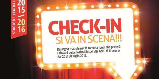 Check-in: si va in scena! Spettacoli teatrali per la GMG