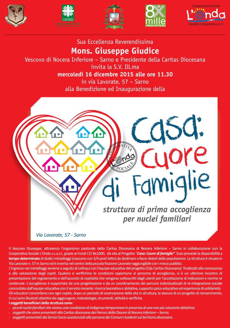 Cucina Della Mamma Nocera Inferiore casa: cuore di famiglie - diocesi nocera inferiore-sarno