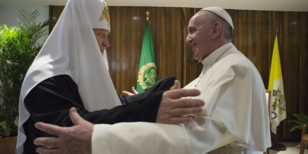 Papa Francesco incontra il Patriarca Kirill. La dichiarazione comune
