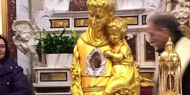 Reliquie di Sant'Antonio a Poggiomarino