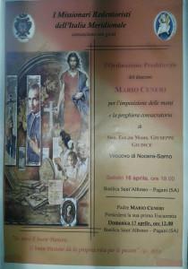 Ordinazione Mario Ceneri