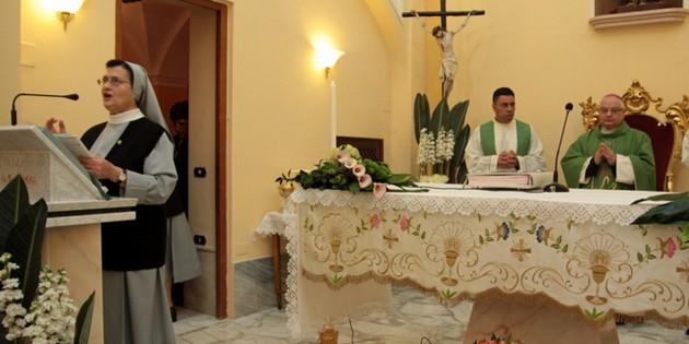 Restaurata la cappella delle suore di Portaromana in Nocera Superiore
