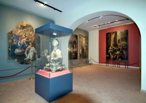 Sala dipinti del Museo