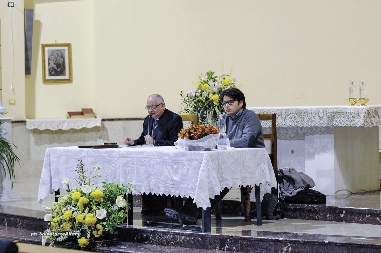 12 aprile 2016 – Il Vescovo incontra nella parrocchia Santa Maria delle Grazie di Angri i delegati delle parrocchie per rivedere insieme lo statuto e il regolamento del Consiglio pastorale parrocchiale.