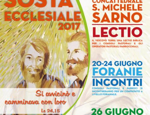 Sosta Ecclesiale 2017