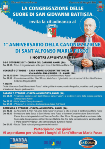 Anniversario Canonizzazione Alfonso M. Fusco