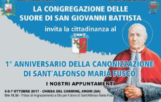 Anniversario Canonizzazione S. Alfonso Maria Fusco
