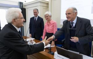 Sergio Mattarella e Raffaele Cananzi