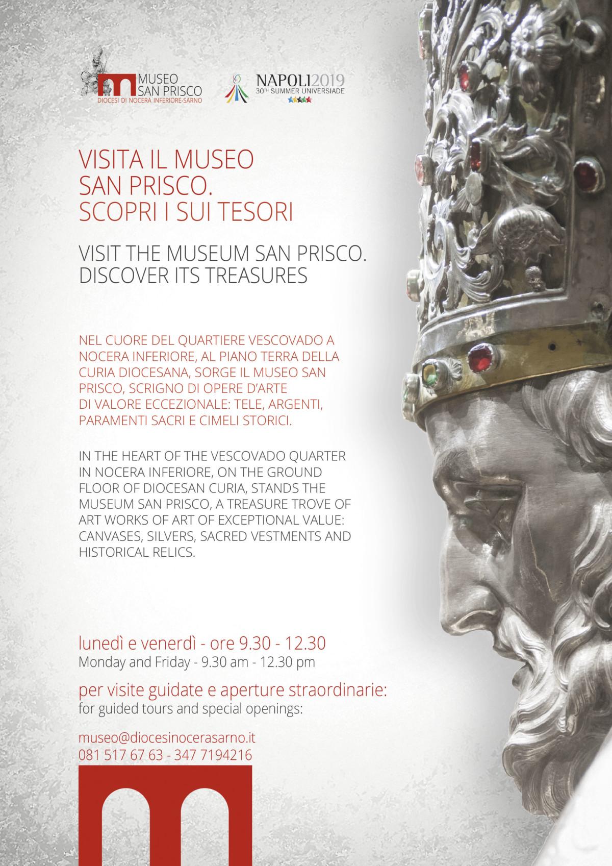 Locandina apertura museo per Universiade