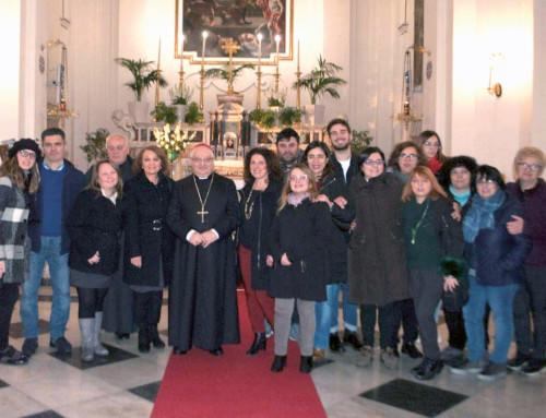 Visita Pastorale a SS. Corpo di Cristo in Nocera Inf.: un incontro di umiltà e gioia