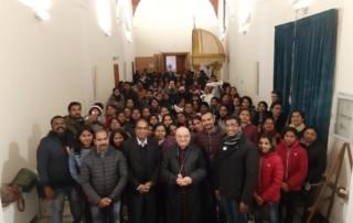 La comunità indiana presente in diocesi